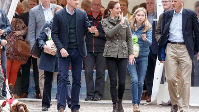 Foto Escolta de Duques de Cambridge atropella anciana en Londres 19 junio 2019