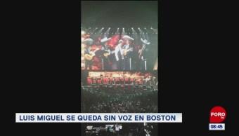 #EspectáculosenExpreso: Luis Miguel se queda sin voz en Boston