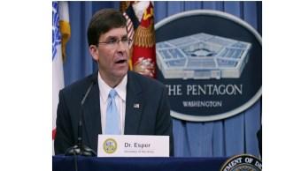Trump nomina a secretario del Ejército como jefe del Pentágono