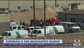 Esperan a 500 migrantes diarios en Chihuahua