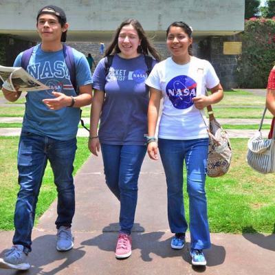 Estudiantes de la UNAM ganan concurso de la NASA
