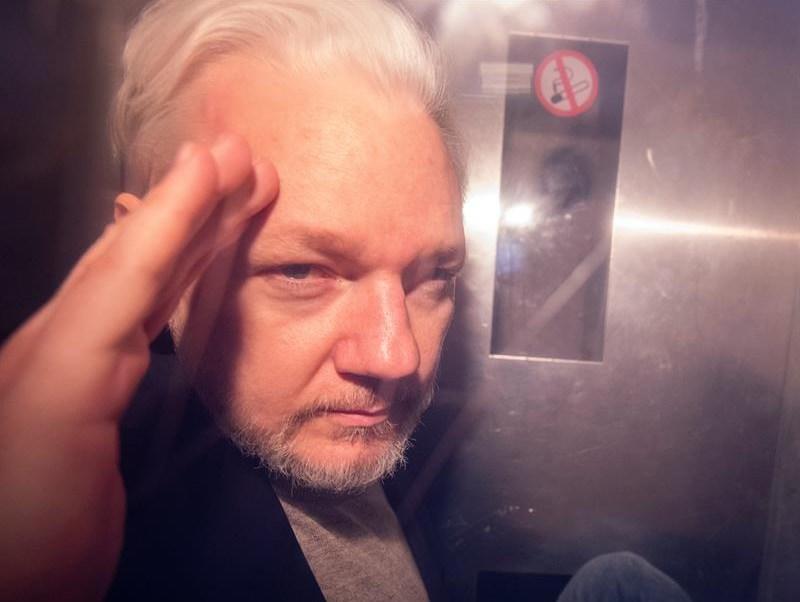 FotoEU pide al Reino Unido la extradición de Julian Assange 11 junio 2019