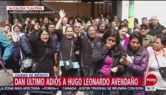 FOTO: Exigen justicia por el asesinato de Hugo Leonardo Avendaño