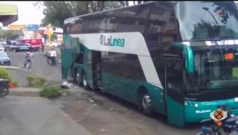Foto: Explota Granada Autobús Pasajeros Uruapan Michoacán 17 Junio 2019