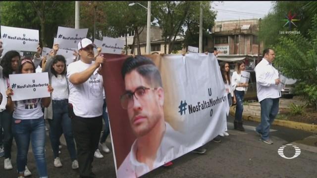Foto: Familiares y amigos exigen a autoridades que aceleren búsqueda de estudiante secuestrado