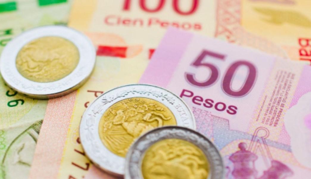 Foto: Monedas y billetes mexicanos