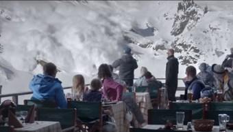 """Foto: Secuencia de la película sueca """"Force Majeure"""" del 2014"""
