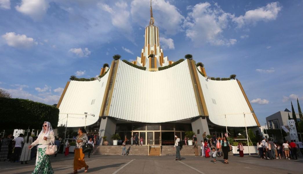 Foto: Sede de la iglesia la Luz del Mundo en la ciudad de Guadalajara, en Jalisco, México. El 9 de junio de 2019