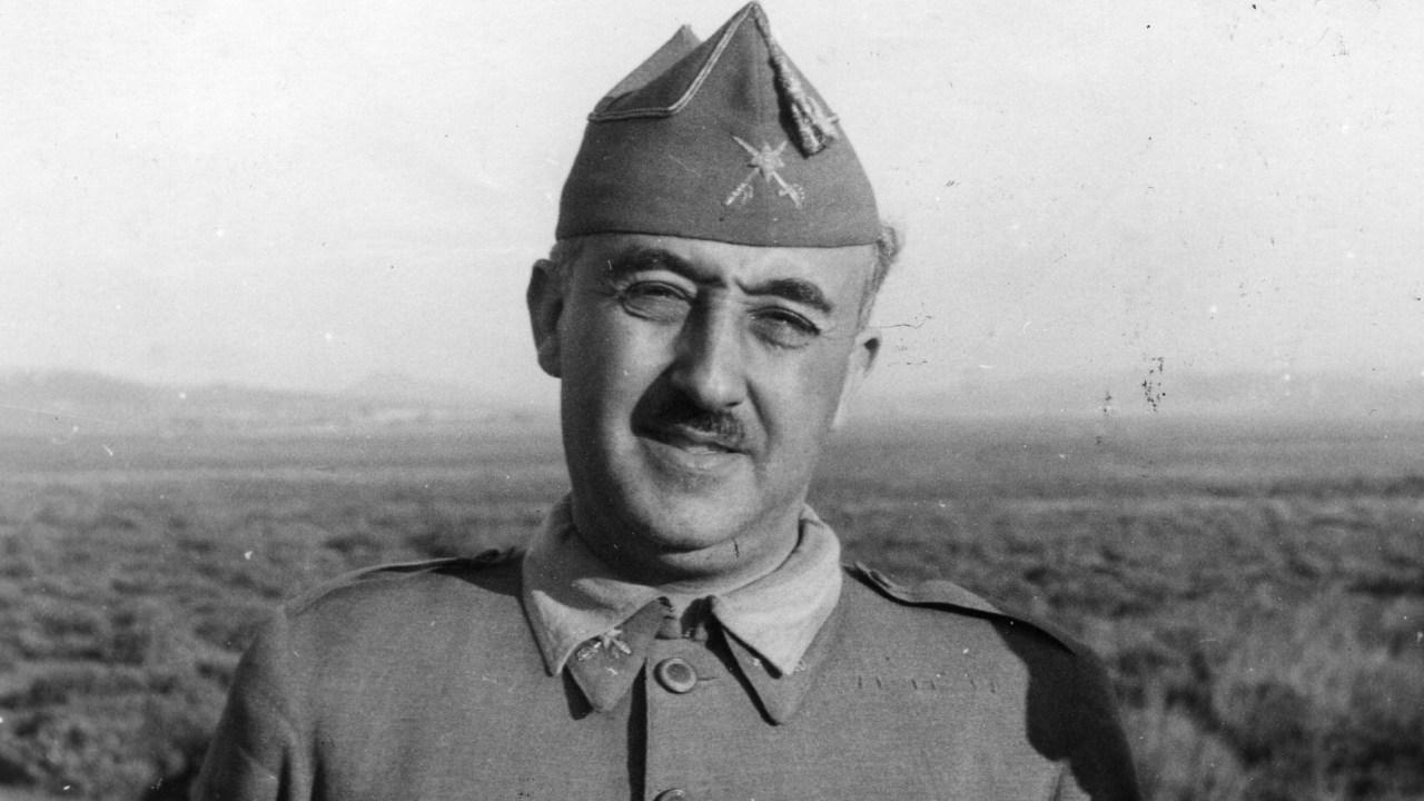 Foto: Francisco Franco, 27 de agosto de 1937, España