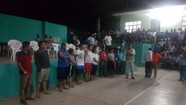 Foto: Funcionarios retenidos en Guerrero, 14 de junio 2019. Twitter @digitalgro