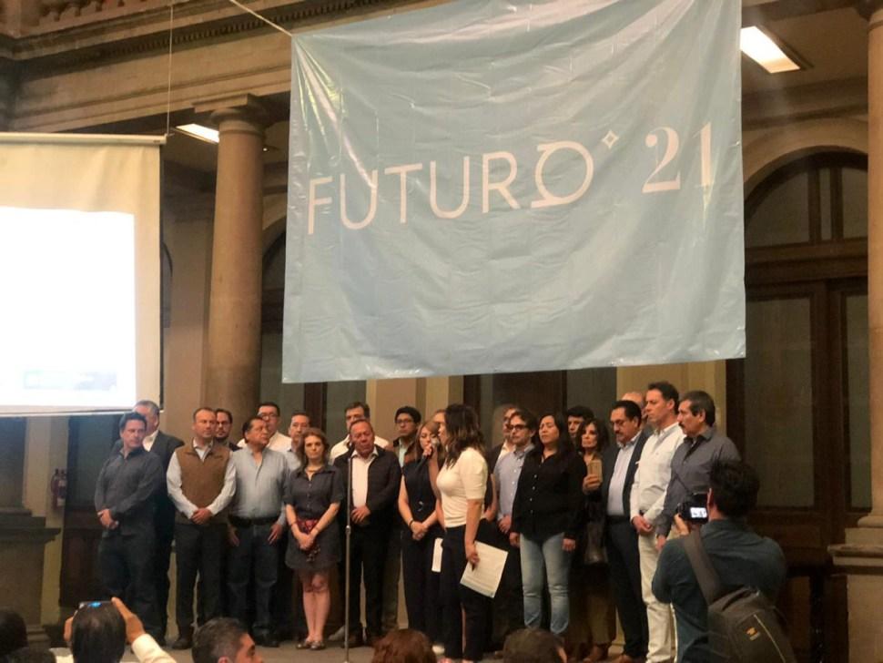 Foto: Futuro 21, unidad opositora de contrapeso a AMLO, dice Fernando Belaunzarán