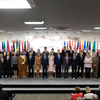 Sin EU, G-20 refrenda Acuerdo de París sobre cambio climático