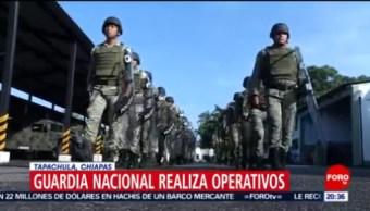 Foto: Guardia Nacional Controla Flujo Migratorio En Frontera Sur 18 Junio 2019
