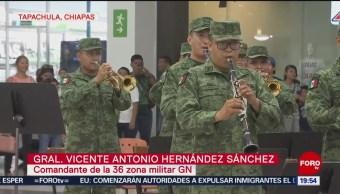 FOTO: Guardia Nacional demuestra que también es buena para la música, 22 Junio 2019