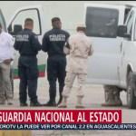 FOTO: Guardia Nacional llega a la frontera de Coahuila