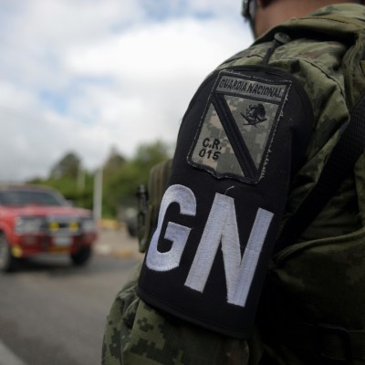 Guardia Nacional realiza primer recorrido en Chiapas para vigilar frontera