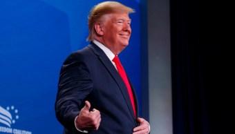 FOTO Guatemala sería tercer país seguro para migrantes, dice Trump (AP washington junio 2019)
