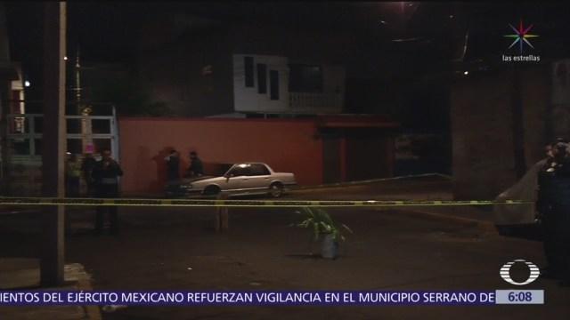 Hombre es ejecutado en Álvaro Obregón, CDMX
