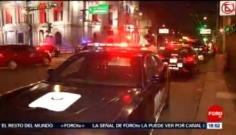 FOTO: Hombre herido de bala frente a Bellas Artes en CDMX, 15 Junio 2019