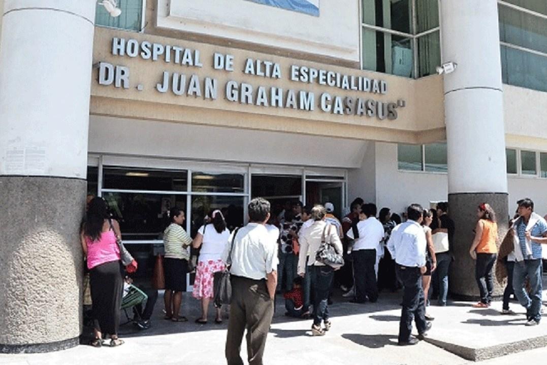 Foto: Hospital de Alta Especialidad 'Juan Graham Casasús', 2 diciembre 2013. Twitter @DiarioPresente