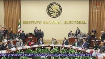 INE multa con 241 mil 800 pesos al partido Morena