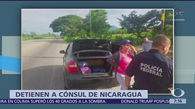 INM presenta ante FGR a cónsul de Nicaragua