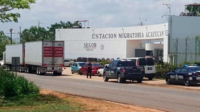 Foto: El Instituto Nacional de Migración ha rescatado 9 mil indocumentados en Veracruz, 21 junio 2019
