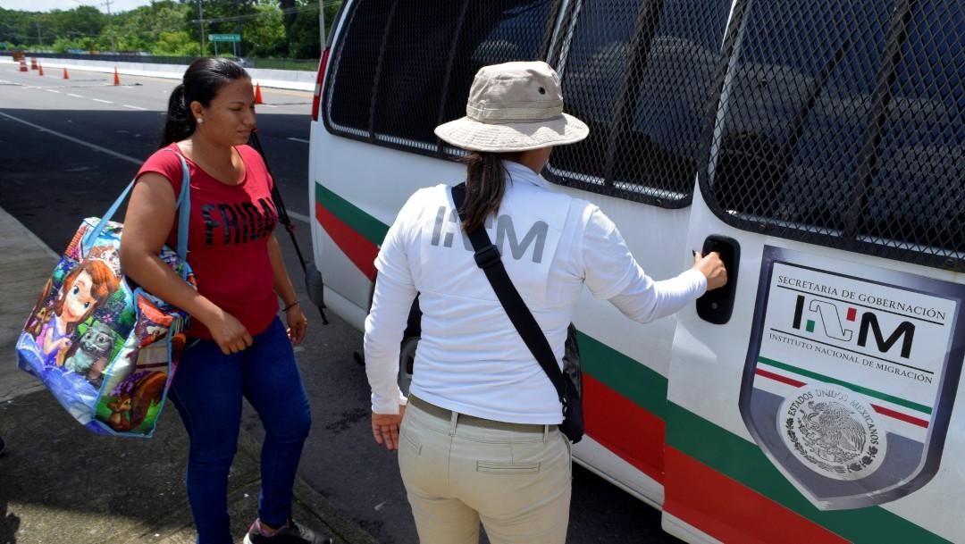 Denuncian presunta extorsión de funcionarios del INM en Tamaulipas