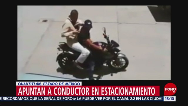 FOTO: Intento de asalto a automovilista en Cuautitlán