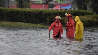 Foto: lluvia provoca inundación en el Valle de Toluca, 19 de junio 2019. Twitter @Dann99Hz
