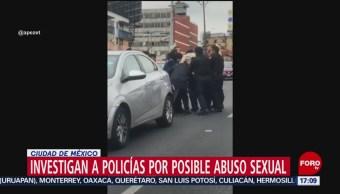 Foto: Investigan a policías por abuso sexual