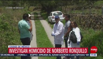 FOTO: Investigarán secuestro de Norberto Ronquillo hasta esclarecerlo