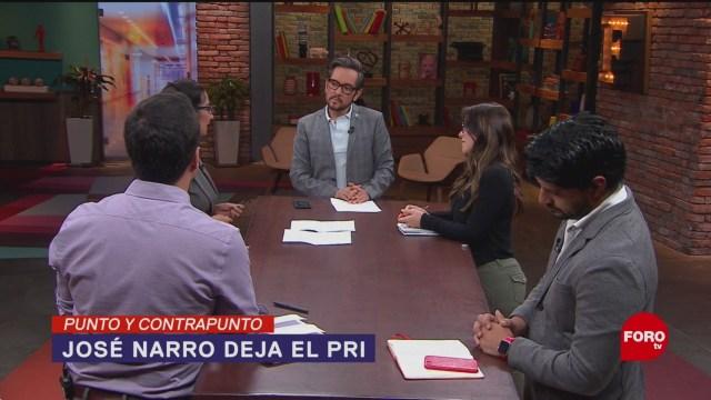 Foto: José Narro Dice PRI Morena AMLO 20 Junio 2019