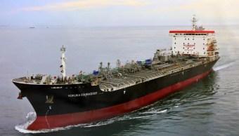 Foto: El petrolero nipón 'Kokuka Courageous', 16 junio 2019