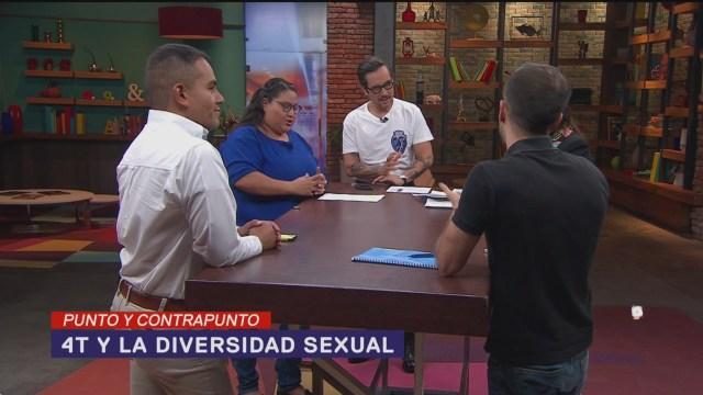 Foto: Gobierno AMLO Diversidad Sexual Relación 28 Junio 2019
