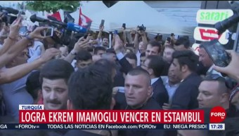 FOTO: La oposición conquista la alcaldía de Estambul, 23 Junio 2019