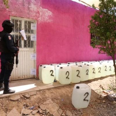 Aseguran laboratorio clandestino en Culiacán; suman 23 en el año