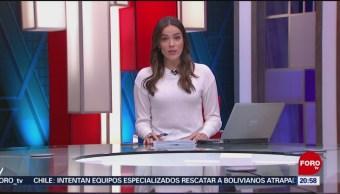 Foto: Las Noticias Danielle Dithurbide Forotv 14 Junio 2019