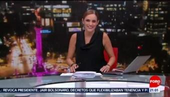 Foto: Las Noticias Danielle Dithurbide Forotv 25 Junio 2019