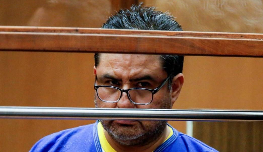 Foto: El apóstol Naasón Joaquín García durante su juicio en Los Ángeles, California, el 23 de junio de 2019 (Reuters)