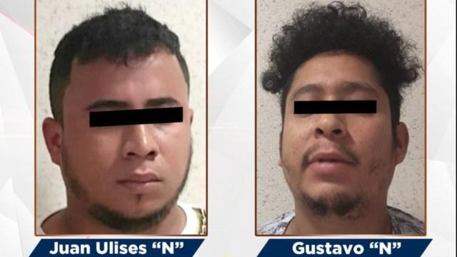 Foto: A los detenidos se les aseguraron teléfonos celulares de diferentes marcas y modelos, el 23 de junio de 2019 (Twitter @FGEGuerrero)
