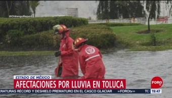 Foto: Lluvia Toluca 19 Junio 2019