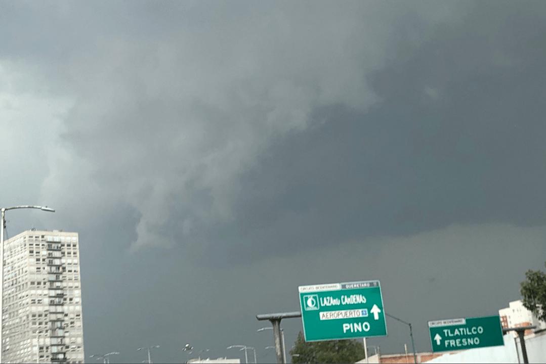 Activan alerta amarilla por lluvia en nueve alcaldías de CDMX
