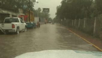 FOTO Lluvia y viento dañan 15 casas en Galeana, Nuevo León 5 junio 2019 nuevo leon