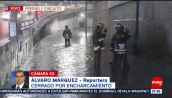 FOTO: Lluvia provoca encharcamientos en distintos puntos de CDMX, 23 Junio 2019