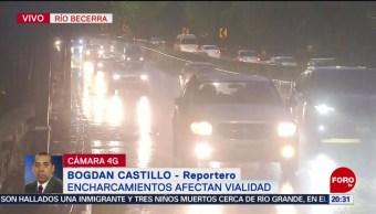 Foto: Lluvias Inundaciones Encharcamientos Cdmx Hoy 24 Junio 2019