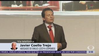 Lozoya recibió órdenes de Peña Nieto durante su administración en Pemex: Javier Coello