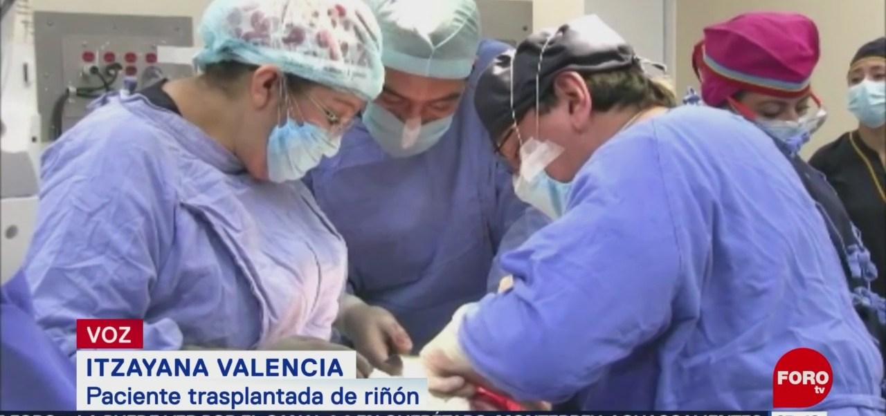 Madre dona riñón a su hija, el tipo de trasplante más solicitado en México