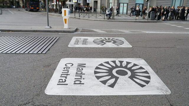 FOTO Madrid reduce contaminación, mayo registra el aire más limpio (AP 2018)