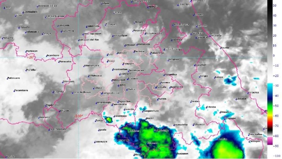 Foto: Imagen de satélite de las 05:31 horas, tiempo del centro de México, 23 junio 2019